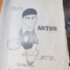 Coleccionismo de Revistas y Periódicos: ANTON EL CAÑONERO CON BOINA - MARCA PAGINAS DE LA 1 A LA 8 - 11 DE AGOSTO DE 1967. Lote 87386772