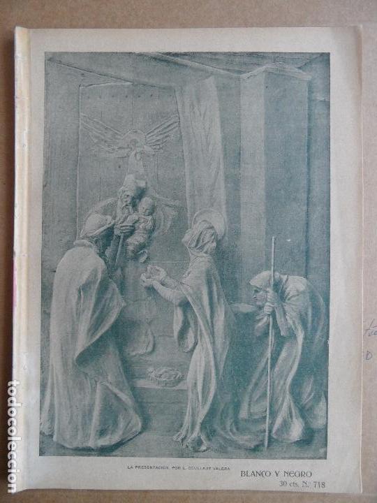 BLANCO Y NEGRO. NÚM. 718. 4 DE FEBRERO DE 1905 (Coleccionismo - Revistas y Periódicos Antiguos (hasta 1.939))