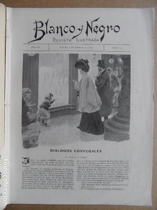 Coleccionismo de Revistas y Periódicos: Blanco y Negro. Núm. 718. 4 de febrero de 1905 - Foto 2 - 87407284