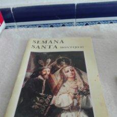 Coleccionismo de Revistas y Periódicos: REVISTA DE SEMANA SANTA AÑO 87. Lote 87494438