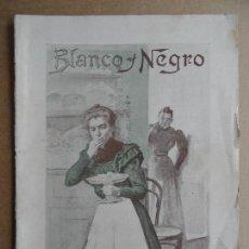 Coleccionismo de Revistas y Periódicos: BLANCO Y NEGRO. NÚM. 454. 13 DE ENERO DE 1900. Lote 87645784