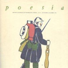 Coleccionismo de Revistas y Periódicos: POESÍA. REVISTA ILUSTRADA DE INFORMACIÓN POÉTICA (45 NÚMS. EN 33 TOMOS). COMPLETA. Lote 94832882