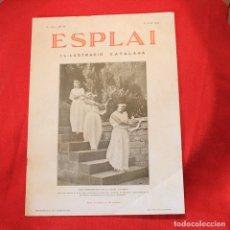 Coleccionismo de Revistas y Periódicos: ESPLAI - Nº133 ANY IV - 17 JUNY 1934 - ARTIGAS - ZEPPELIN. Lote 87699128