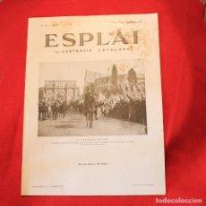 Coleccionismo de Revistas y Periódicos: ESPLAI - Nº154 ANY IV - 11 NOVEMBRE 1934 - MUSSOLINI. Lote 87699144
