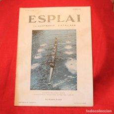 Coleccionismo de Revistas y Periódicos: ESPLAI - Nº134 ANY IV - 29 ABRIL 1934 - REMO. Lote 87699236