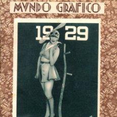 Coleccionismo de Revistas y Periódicos: REVISTA MUNDO GRÁFICO 1ER CUATRIMESTRE 1929, 17 EJEMPLARES. Lote 87716252