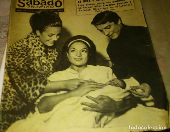 MARISOL .SÁBADO GRÁFICO.1963 (Coleccionismo - Revistas y Periódicos Modernos (a partir de 1.940) - Otros)