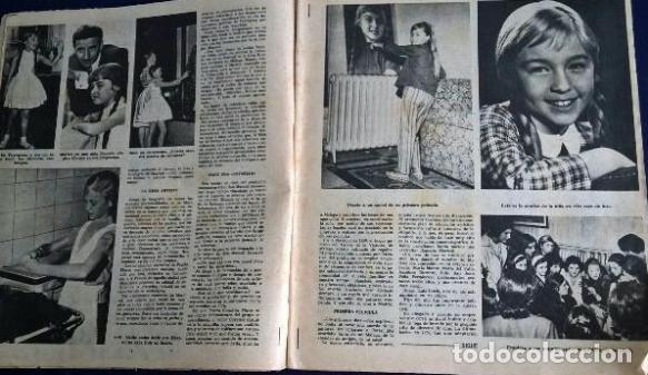 Coleccionismo de Revistas y Periódicos: Marisol .Sábado gráfico.1963 - Foto 2 - 87952212