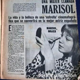 Coleccionismo de Revistas y Periódicos: Marisol .Sábado gráfico.1963 - Foto 3 - 87952212