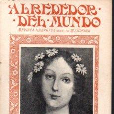 Coleccionismo de Revistas y Periódicos: ALREDEDOR DEL MUNDO Nº 57 A 82 -2º. SEMESTRE 1900, 26 EJEMPLARES. Lote 88150204