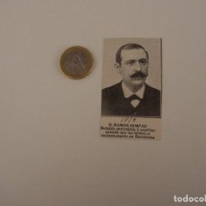 Coleccionismo de Revistas y Periódicos: RECORTE REVISTA ORIGINAL 1910. RAMON SEMPAU, PERIODISTA Y ESCRITOR CATALAN. Lote 88376388
