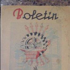 Coleccionismo de Revistas y Periódicos: BOLETIN DEL SINDICATO NACIONAL DEL METAL. Nº 23, ABRIL 1944. PUBLICIDAD.VER FOTOS. Lote 88431768