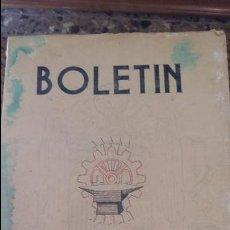 Coleccionismo de Revistas y Periódicos: BOLETIN DEL SINDICATO NACIONAL DEL METAL. Nº 14, JULIO 1943. PUBLICIDAD.VER FOTOS. Lote 88432868