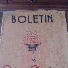 Coleccionismo de Revistas y Periódicos: BOLETIN DEL SINDICATO NACIONAL DEL METAL. Nº 20 21 21 ENERO FEBRERO MARZO 1944. PUBLICIDAD.VER FOTOS. Lote 88433620
