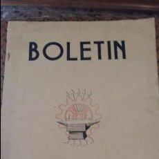 Coleccionismo de Revistas y Periódicos: BOLETIN DEL SINDICATO NACIONAL DEL METAL. Nº 13 JUNIO 1943. PUBLICIDAD.VER FOTOS. Lote 88438600