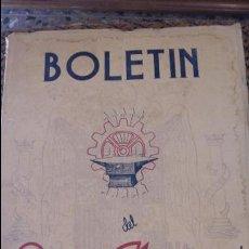 Coleccionismo de Revistas y Periódicos: BOLETIN DEL SINDICATO NACIONAL DEL METAL. Nº 17 18 19 OCT NOV DICIE 1943. PUBLICIDAD.VER FOTOS. Lote 88442172