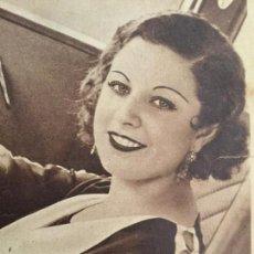 Coleccionismo de Revistas y Periódicos: MARÍA EUGENIA ENRÍQUEZ.MISS ESPAÑA 1934 .REVISTA AÑO 1934. Lote 88520520