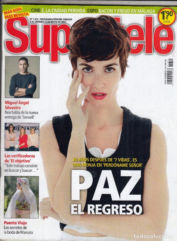 Revista Supertele Nº 1312 Año 2017 Paz Vega M Kaufen Alte
