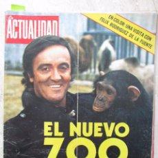 Coleccionismo de Revistas y Periódicos: LA ACTUALIDAD ESPAÑOLA 1062 1972 FELIX RODRIGUEZ DE LA FUENTE, BOB BEAMON, RICARDO JIMENEZ. Lote 88778124