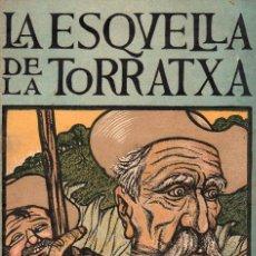 Coleccionismo de Revistas y Periódicos: LA ESQUELLA DE LA TORRATXA ESPECIAL DEDICADO A CERVANTES Y EL QUIJOTE (ABRIL DE 1905). Lote 117735423