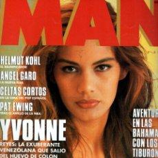 Coleccionismo de Revistas y Periódicos: YVONNE REYES REVISTA MAN NOVIEMBRE 1992. Lote 88819856