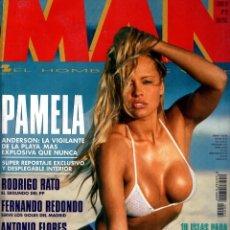 Coleccionismo de Revistas y Periódicos: PAMELA ANDERSON REVISTA MAN JUNIO 1995. Lote 88820024