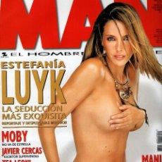 Coleccionismo de Revistas y Periódicos: ESTEFANIA LUYK REVISTA MAN JULIO 2002. Lote 88843132