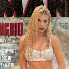 Coleccionismo de Revistas y Periódicos: INGRID ASENSIO REVISTA MAN JULIO 1994. Lote 88844256