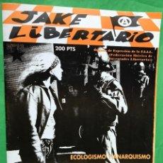 Coleccionismo de Revistas y Periódicos: REVISTA ANARQUISTA JAKE LIBERTARIO - N° 13 - ANARQUISMO. Lote 89305984