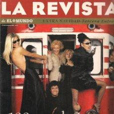 Coleccionismo de Revistas y Periódicos: LA REVISTA DE EL MUNDO. Nº 9. 17 DICIEMBRE 1995. (B/58). Lote 89392724