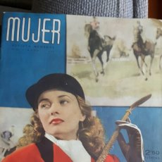 Coleccionismo de Revistas y Periódicos: MUJER REVISTA MAYO 1944. Lote 89427511