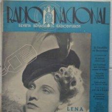 Coleccionismo de Revistas y Periódicos: REVISTA RADIO NACIONAL, Nº 169. 1 FEBRERO 1942. LENA NORMAN. Lote 89432276