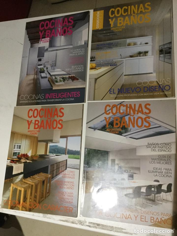 4 revistas cocinas y baños. revista arquitectur - Comprar Otras ...