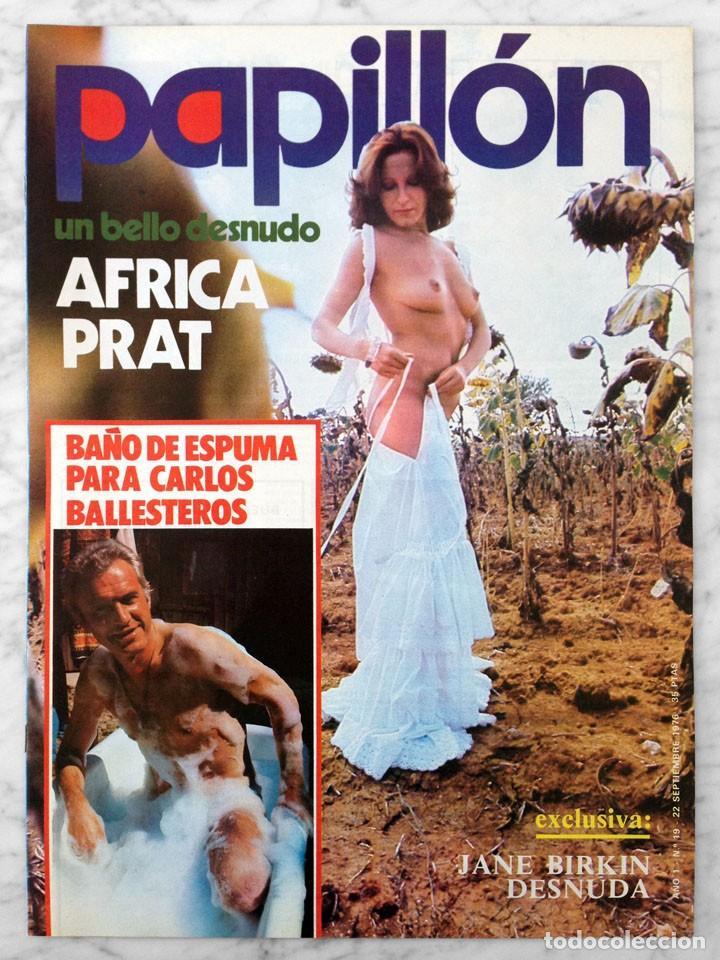 Papillón 1976 áfrica Pratt Carlos Ballesteros Jane Birkin Amel Amor
