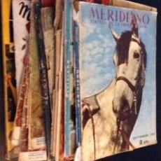 Coleccionismo de Revistas y Periódicos: LOTE DE 20 REVISTAS MERIDIANO AÑOS 50 / VER DESCRIPCION. Lote 89646460