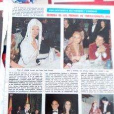 Coleccionismo de Revistas y Periódicos: AMPARO MUÑOZ SARA MONTIEL NADIUSKA HELGA LINE CONCHA CUETOS PAULA PATTIER AGATA LYS LUCIA BOSE. Lote 89677364