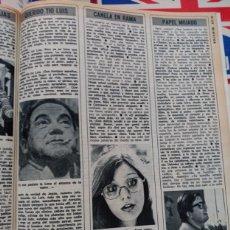 Coleccionismo de Revistas y Periódicos: ROSA LEON CHICHO IBAÑEZ SERRADOR . Lote 89681140