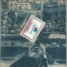 Coleccionismo de Revistas y Periódicos: BYN JUN 1934. 4 PAG TOROS NIMES JUAN BELMONTE RAFAEL GOMEZ EL GALLO VARELITO MADRID NOVILLADA. Lote 90066436