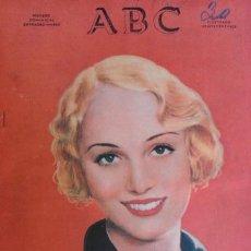 Coleccionismo de Revistas y Periódicos: ANTIGUO PERIODICO DIARIO EXTRAORDINARIO DOMINICAL ABC AÑO 1933 SEPTIEMBRE. Lote 90219724