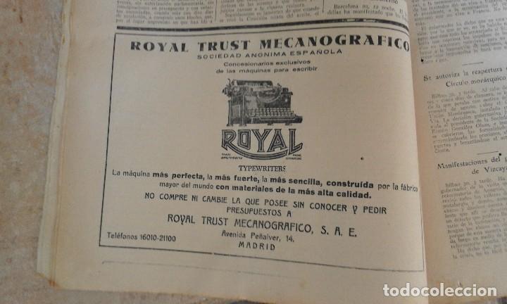 Coleccionismo de Revistas y Periódicos: Antiguo periodico diario extraordinario dominical ABC año 1933 Septiembre - Foto 7 - 90219724