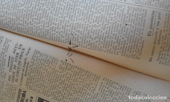 Coleccionismo de Revistas y Periódicos: Antiguo periodico diario extraordinario dominical ABC año 1933 Septiembre - Foto 9 - 90219724