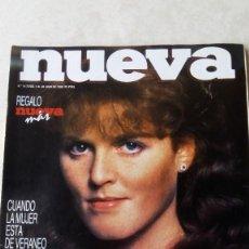 Coleccionismo de Revistas y Periódicos: NUEVA Nº 74 AÑO 1986 - REGALO DE NUEVA MAS, ESPECIAL VACACIONES - REVISTA VINTAGE. Lote 90247388