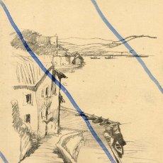 Coleccionismo de Revistas y Periódicos: PASAJES DE SAN JUAN 1934 IMAGEN ANTIGUA ILUSTRACION HOJA REVISTA. Lote 90391920