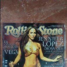 Coleccionismo de Revistas y Periódicos: ROLLING STONE - JENNIFER LÓPEZ - ANTONIO VEGA. Lote 90391572