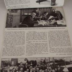 Coleccionismo de Revistas y Periódicos: ENTREVISTA DE REVISTA ORIGINAL 1917 A DON JOSE FRANCOS RODRIGUEZ. Lote 90495805