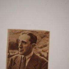 Coleccionismo de Revistas y Periódicos: RECORTE REVISTA ORIGINAL 1947. MIGUEL PEREZ FERRERO, ESCRITOR Y PERIODISTA. Lote 90498315