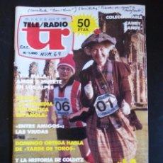 Coleccionismo de Revistas y Periódicos: REVISTA TELERADIO TELE RADIO TR NÚMERO 1490 JULIO AÑO 1986. LA SUPERABUELA. Lote 90585045