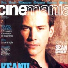 Coleccionismo de Revistas y Periódicos: REVISTA CINEMANIA Nº 45 JUNIO 1999, KEANU REEVES. Lote 54148241