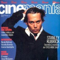 Coleccionismo de Revistas y Periódicos: REVISTA CINEMANIA Nº 48 SEPTIEMBRE 1999, JOHNNY DEPP. Lote 54148288
