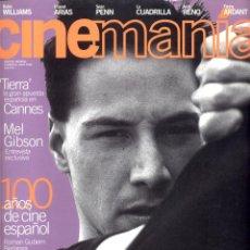 Coleccionismo de Revistas y Periódicos: REVISTA CINEMANIA Nº 8 MAYO 1996, KEANU REEVES. Lote 54147511